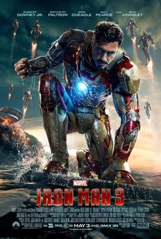 Iron Man 3 - Movie Poster #2 (Small)