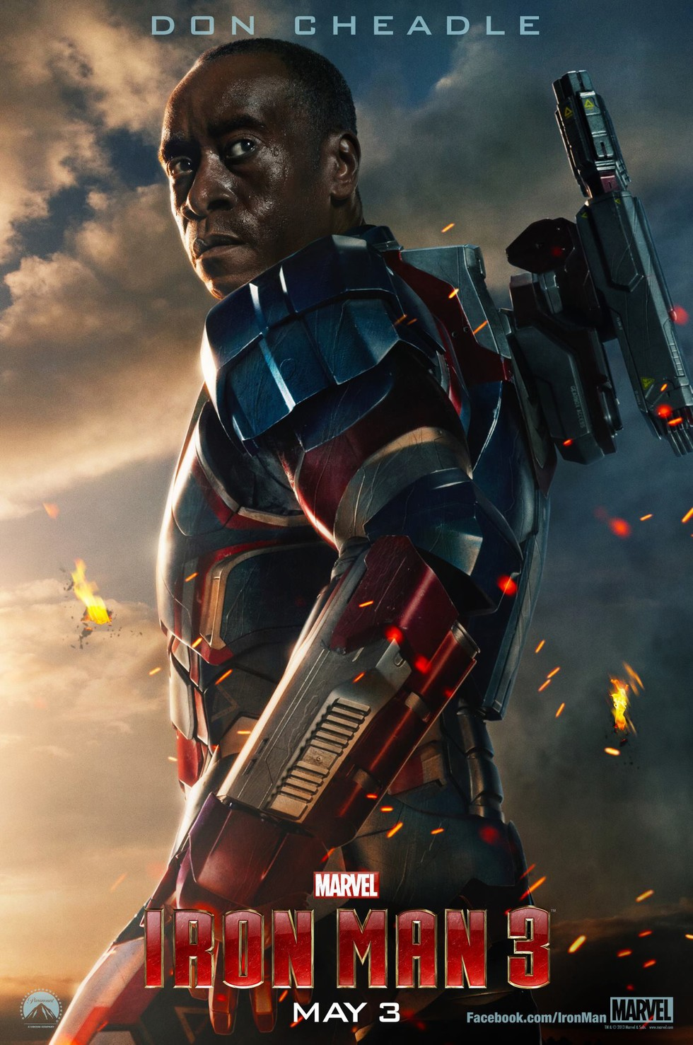Iron Man 3 - Movie Poster #3 (Large)