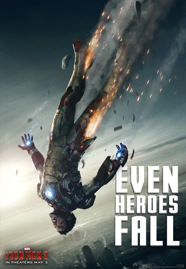 Iron Man 3 - Movie Poster #4