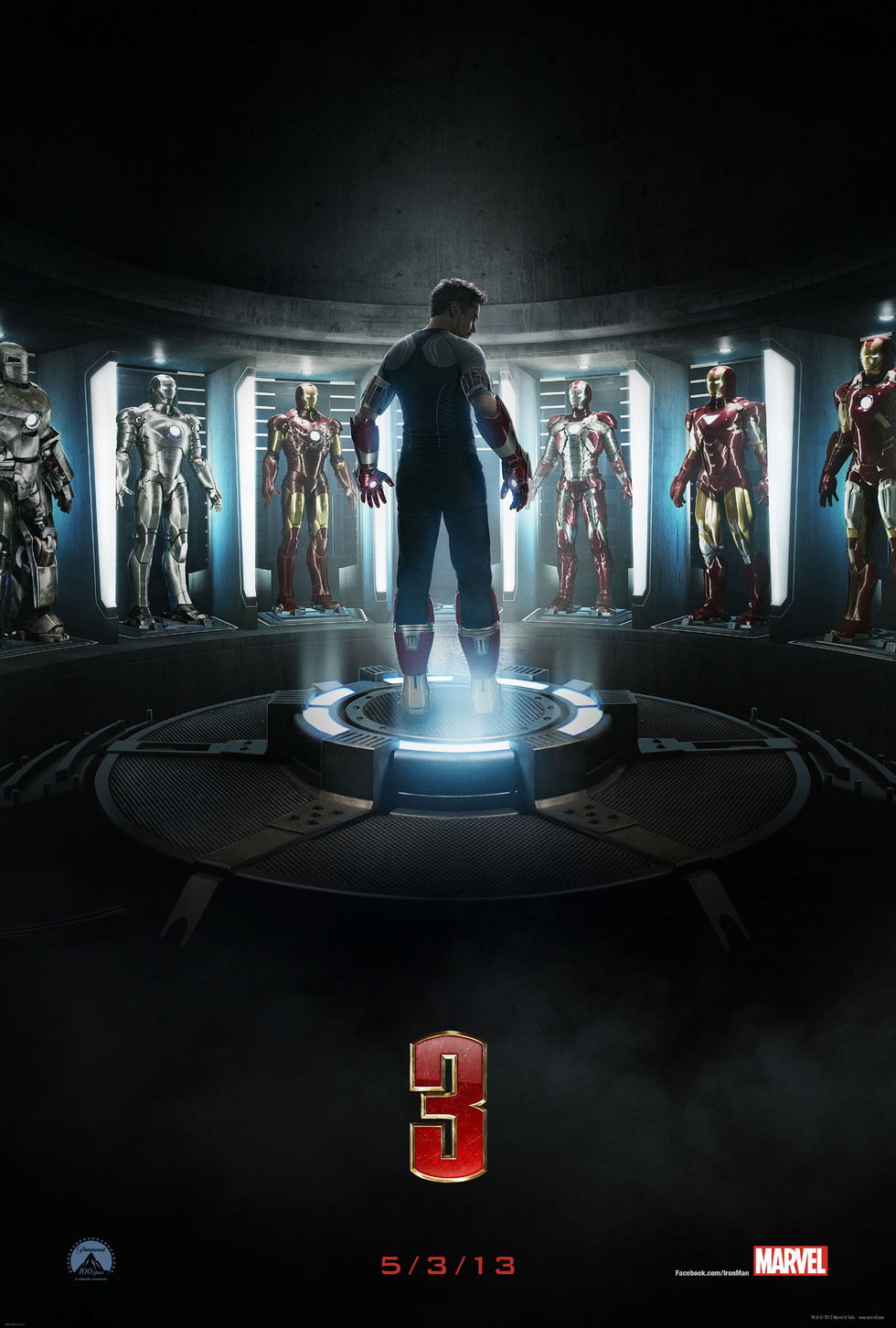 Iron Man 3 - Movie Poster #5 (Large)