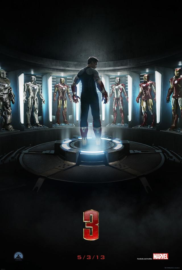 Iron Man 3 - Movie Poster #5