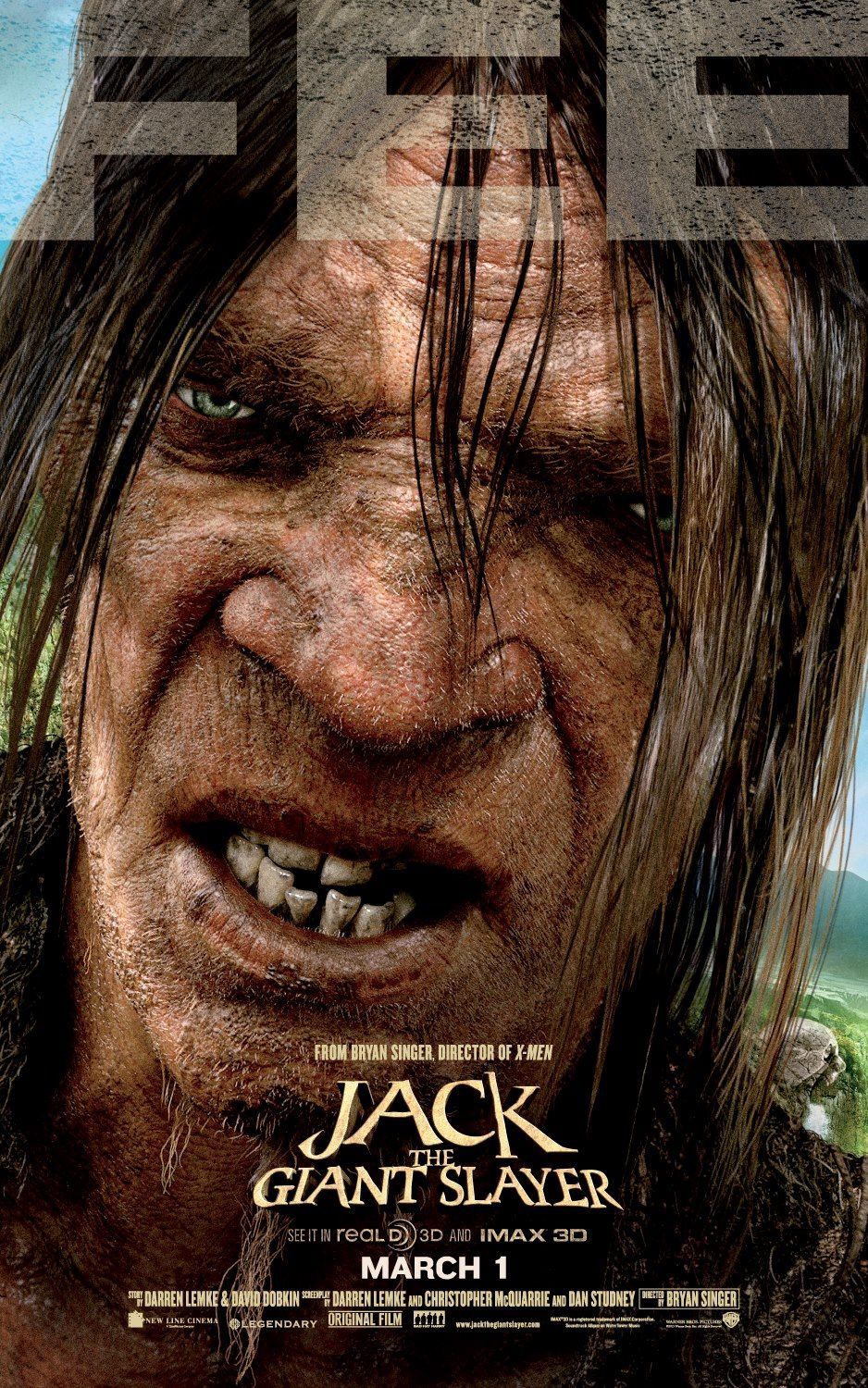 Jack the Giant Slayer - Movie Poster #3 (Original)