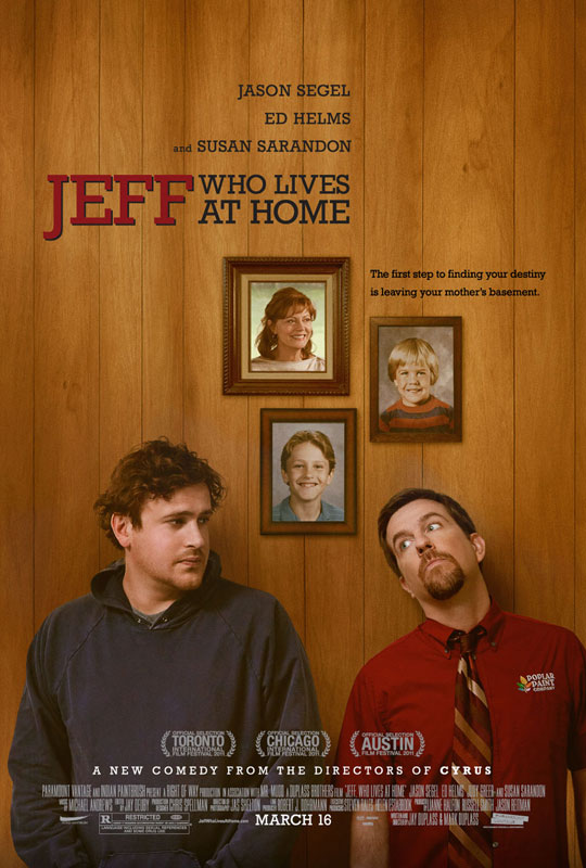 Jeff Who Lives at Home - Movie Poster #1 (Original)