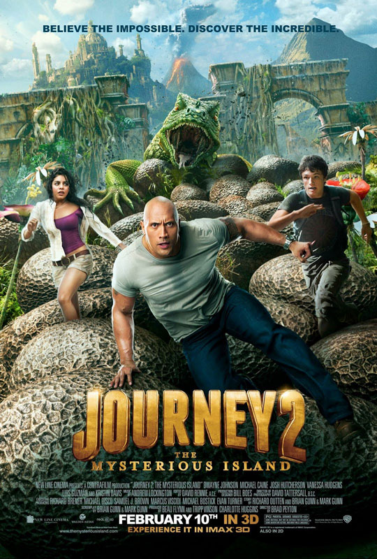 Journey 2: The Mysterious Island - Movie Poster #1 (Original)
