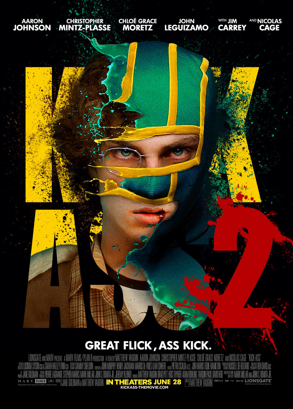 Kick-Ass 2 - Movie Poster #13 (Original)