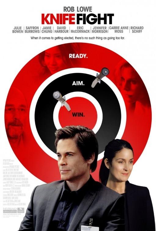 Knife Fight - Movie Poster #1 (Original)