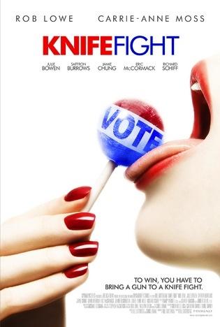 Knife Fight - Movie Poster #2 (Original)