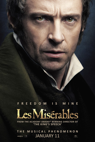 Les Miserables - Movie Poster #2 (Small)