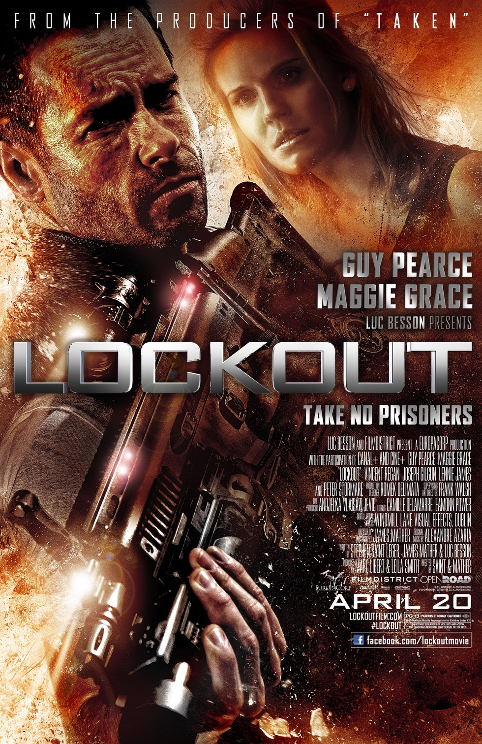 Lockout - Movie Poster #1 (Large)