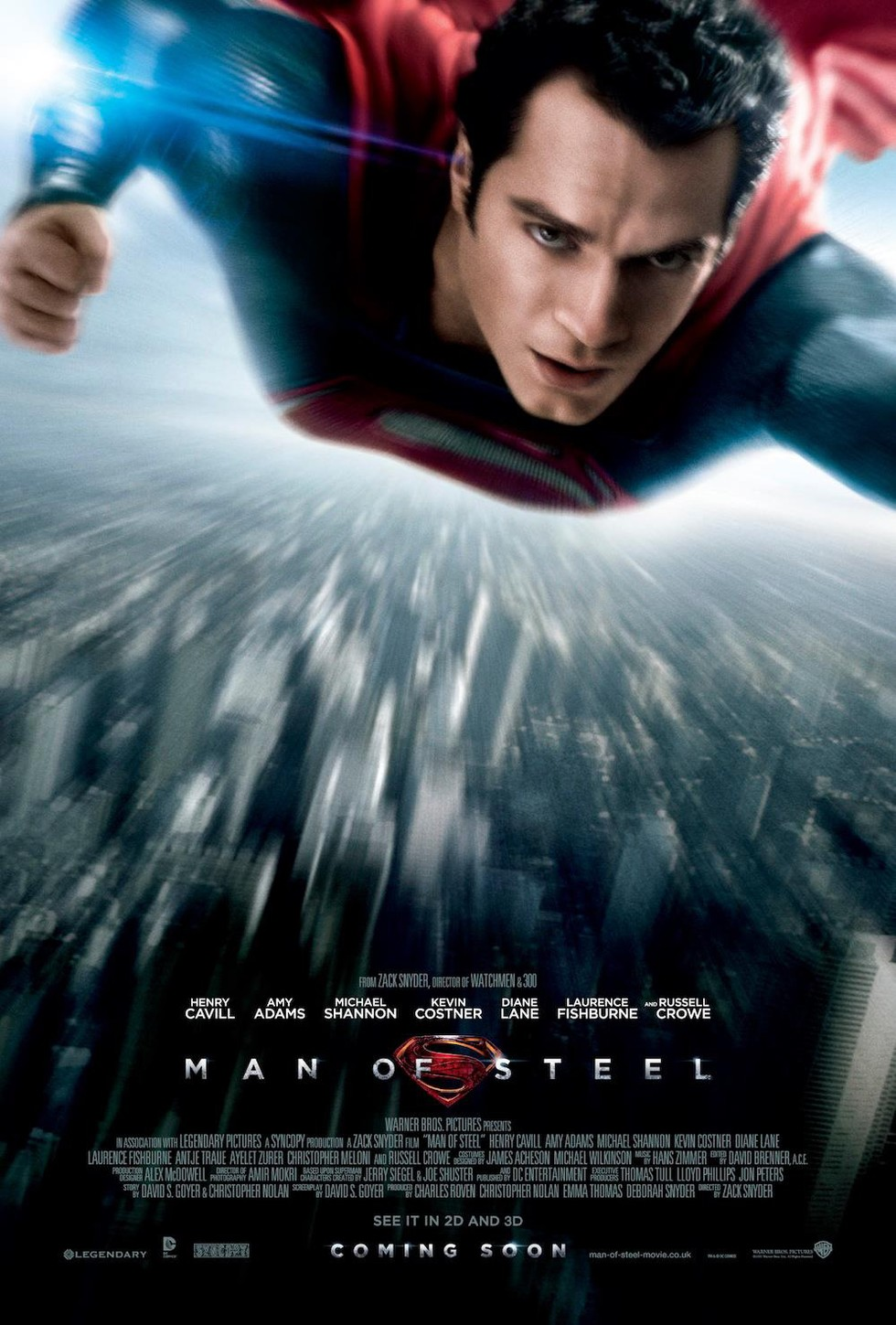 Man of Steel - Movie Poster #1 (Large)
