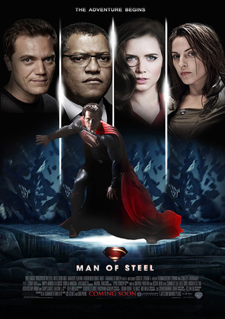 Man of Steel - Movie Poster #4 (Small)