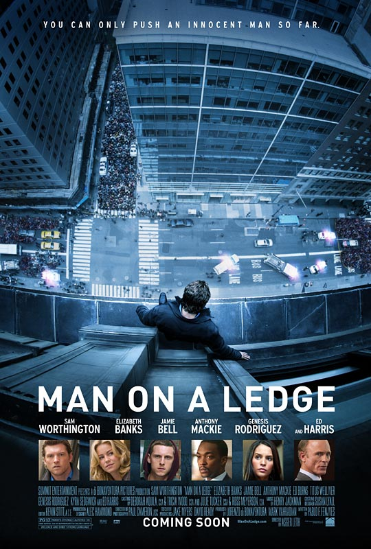 Man on a Ledge - Movie Poster #1 (Original)