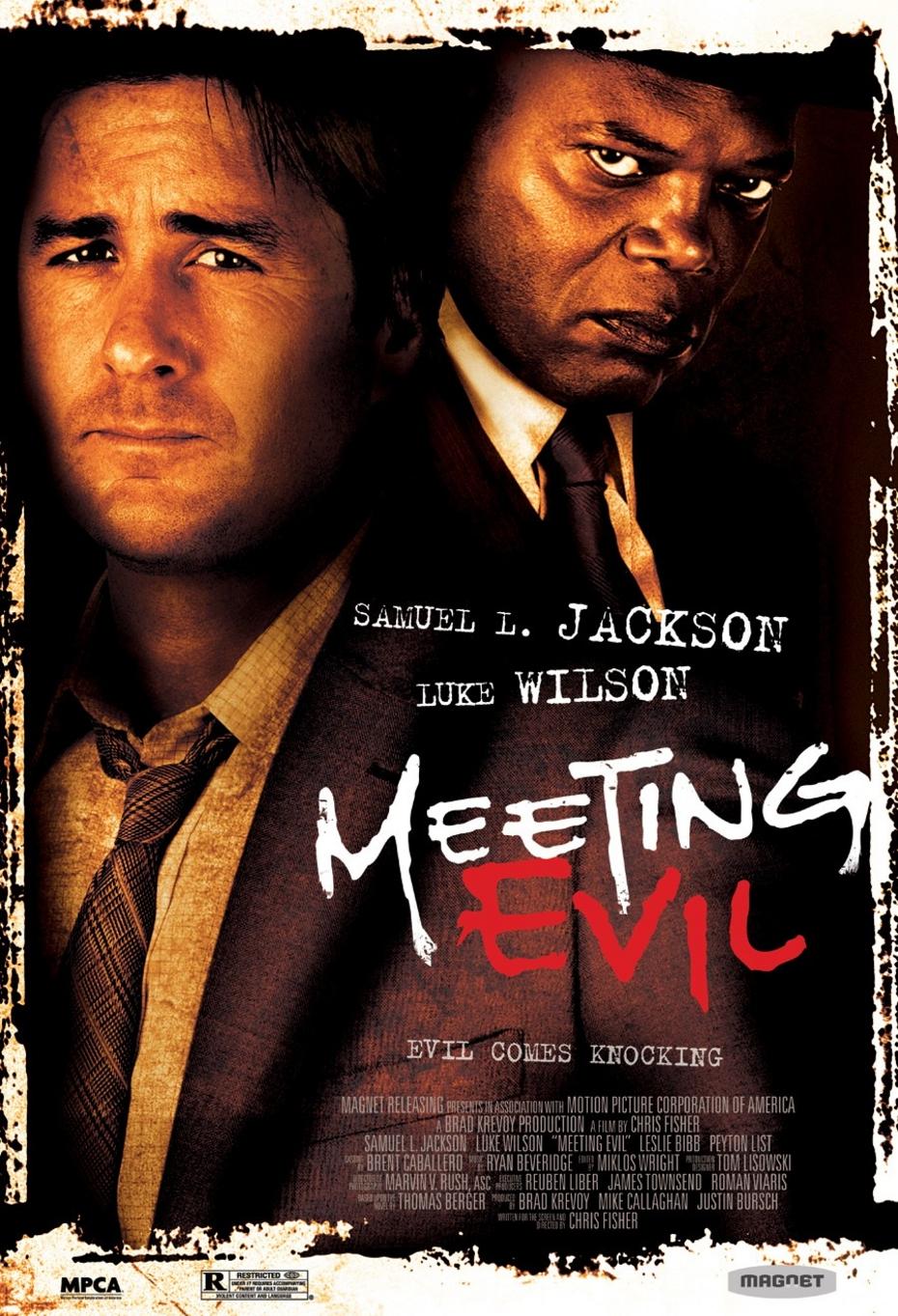 Meeting Evil - Movie Poster #1 (Original)