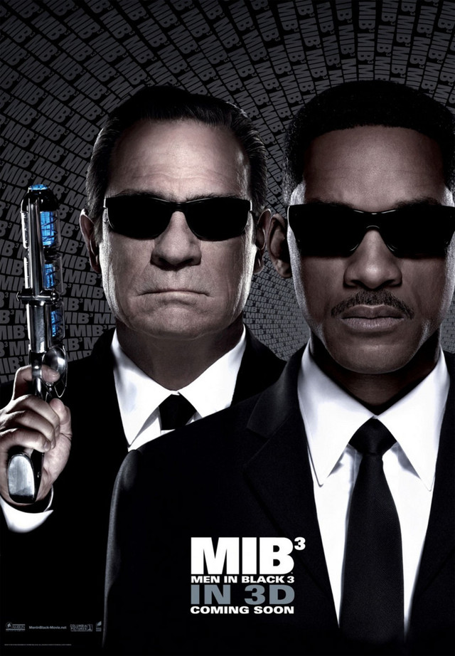 Men in Black 3 - Movie Poster #3