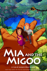 Mia and the Migoo Small Poster