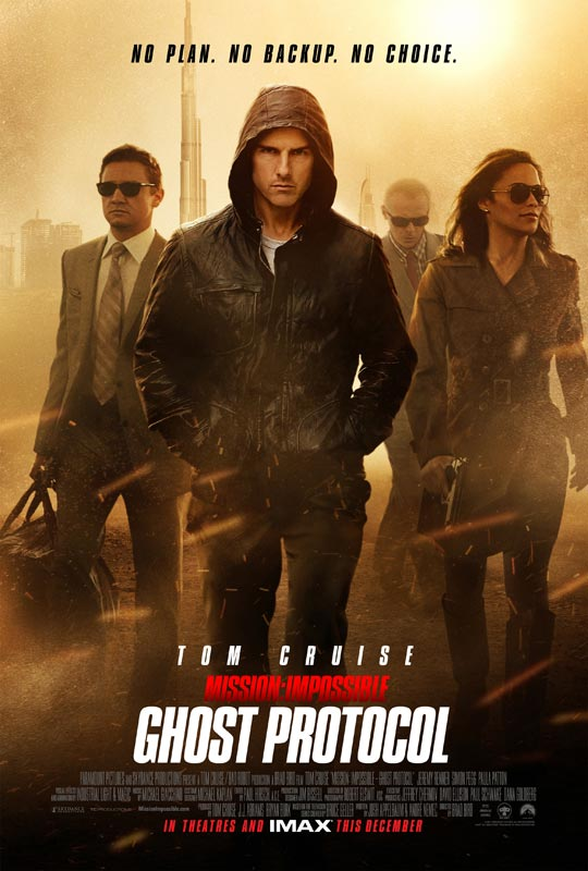Mission: Impossible - Ghost Protocol - Movie Poster #1 (Original)