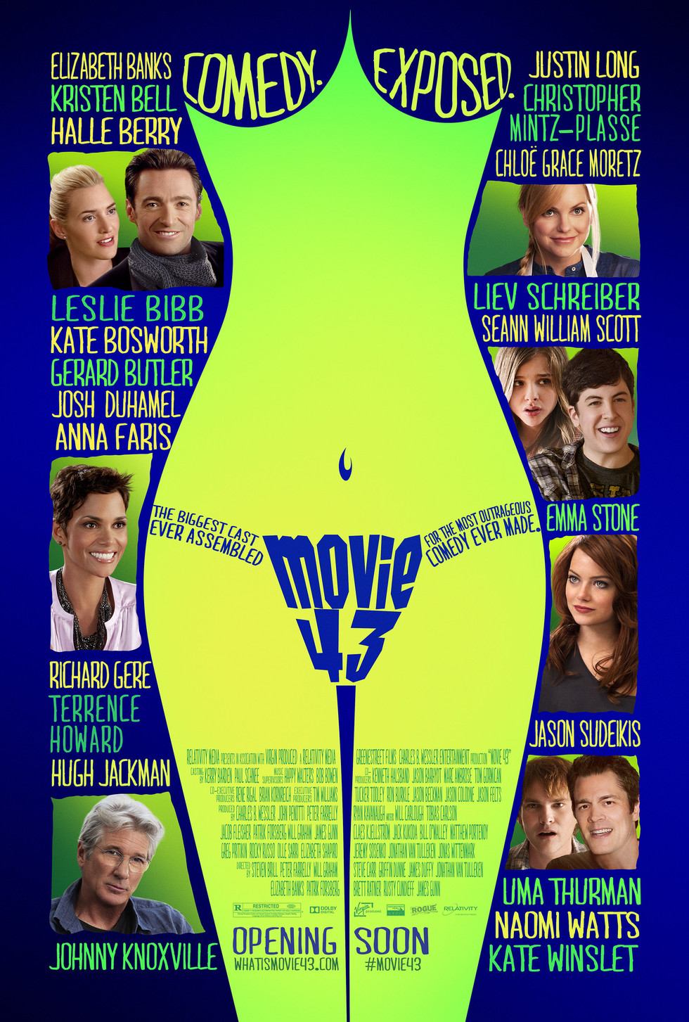Movie 43 - Movie Poster #1 (Large)
