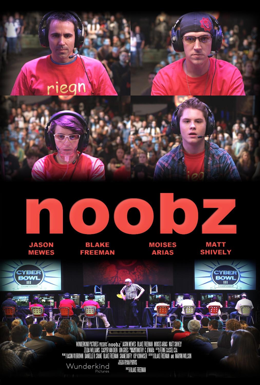 Noobz - Movie Poster #2 (Original)