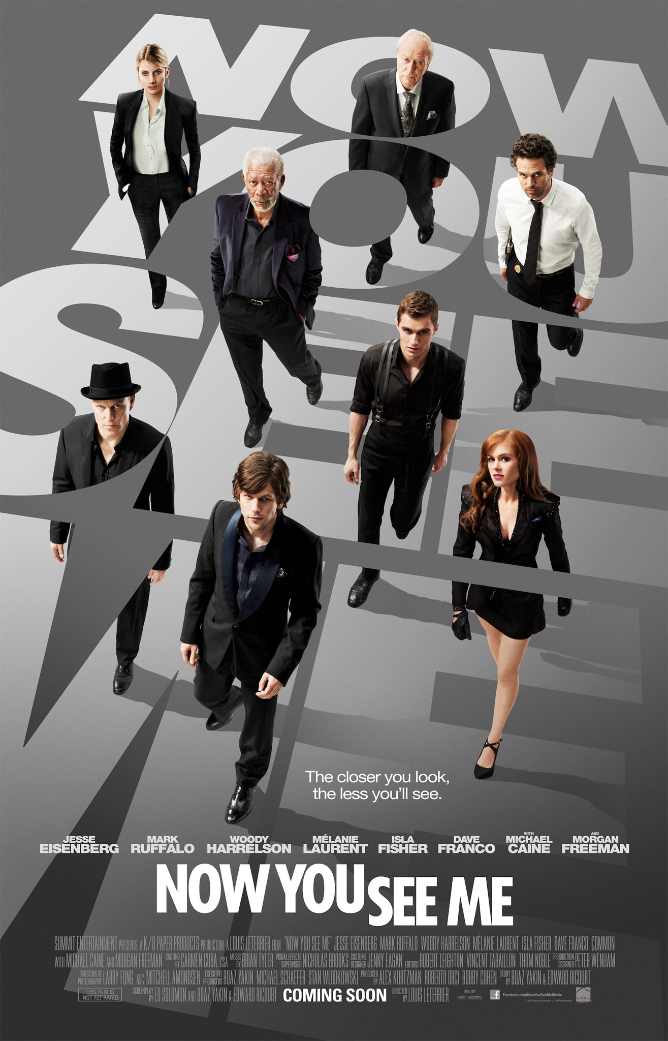 Now You See Me - Movie Poster #1 (Original)