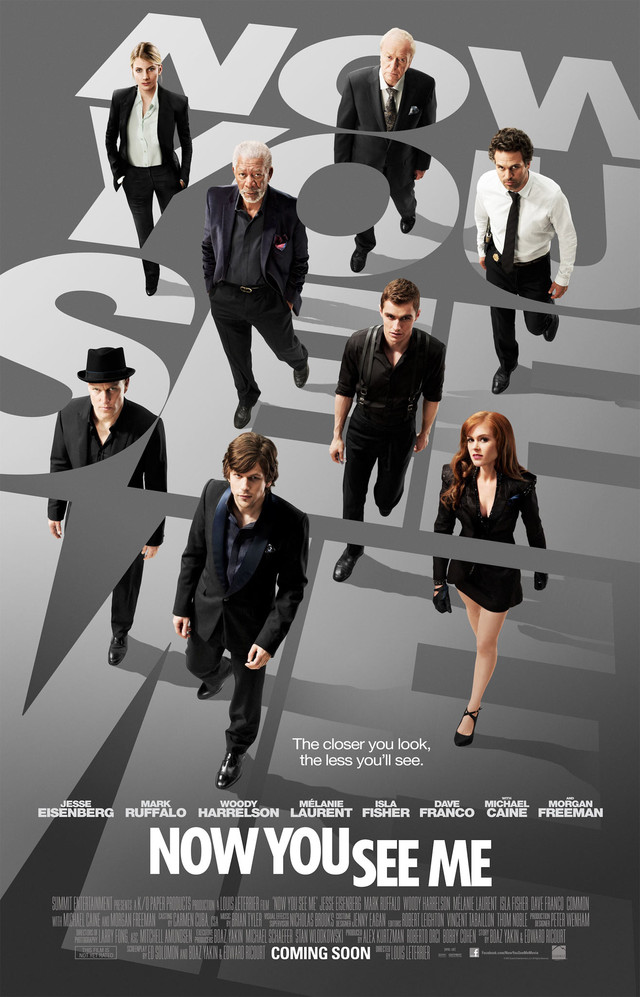 Now You See Me - Movie Poster #1