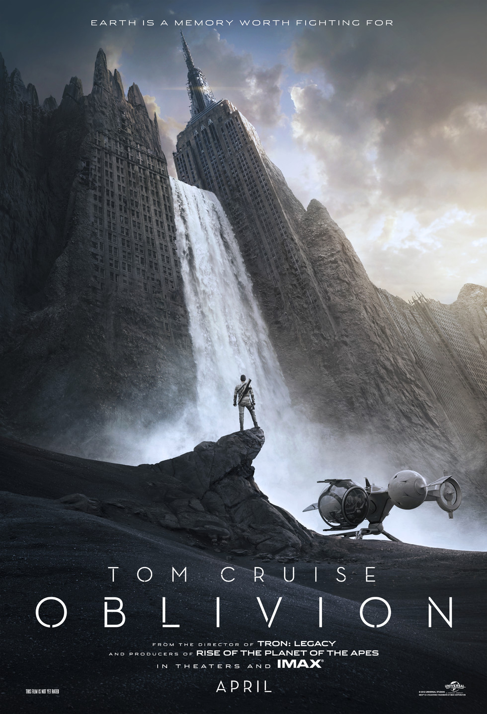 Oblivion - Movie Poster #1 (Large)