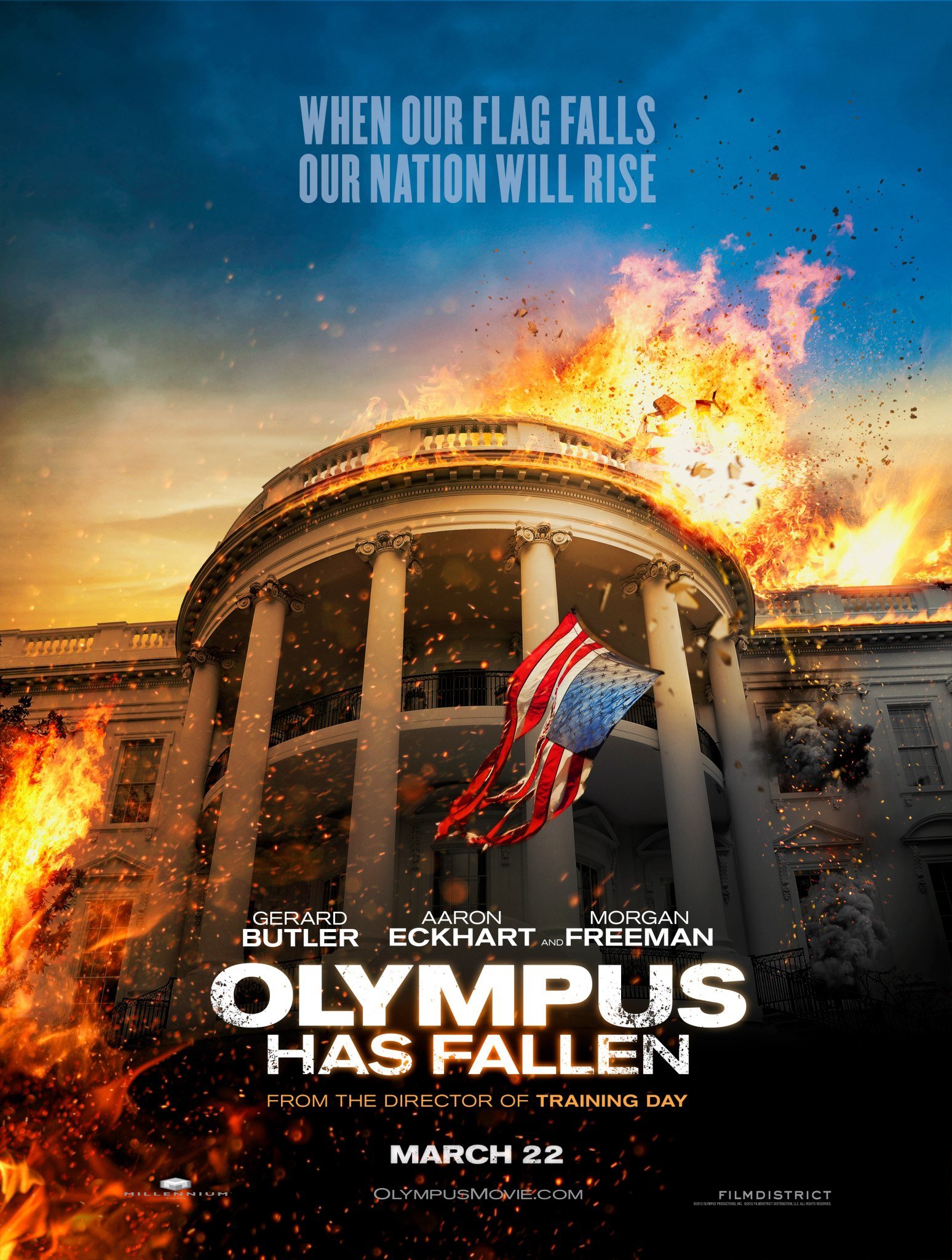 Olympus Has Fallen - Movie Poster #1 (Original)