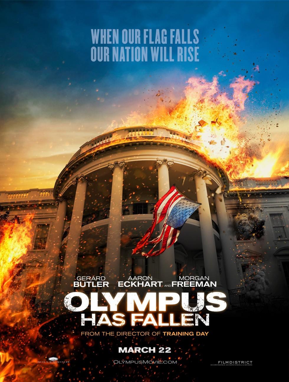 Olympus Has Fallen - Movie Poster #1 (Large)