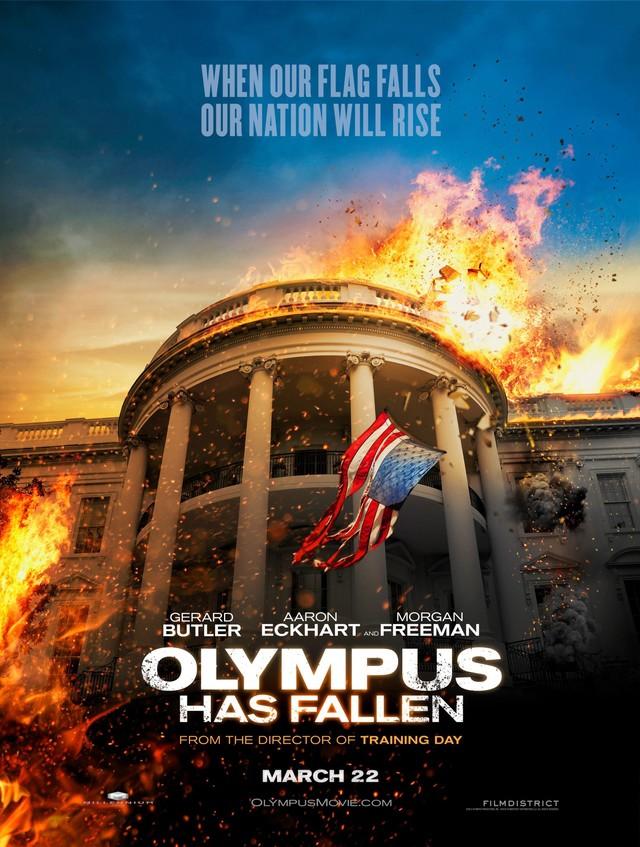 Olympus Has Fallen - Movie Poster #1