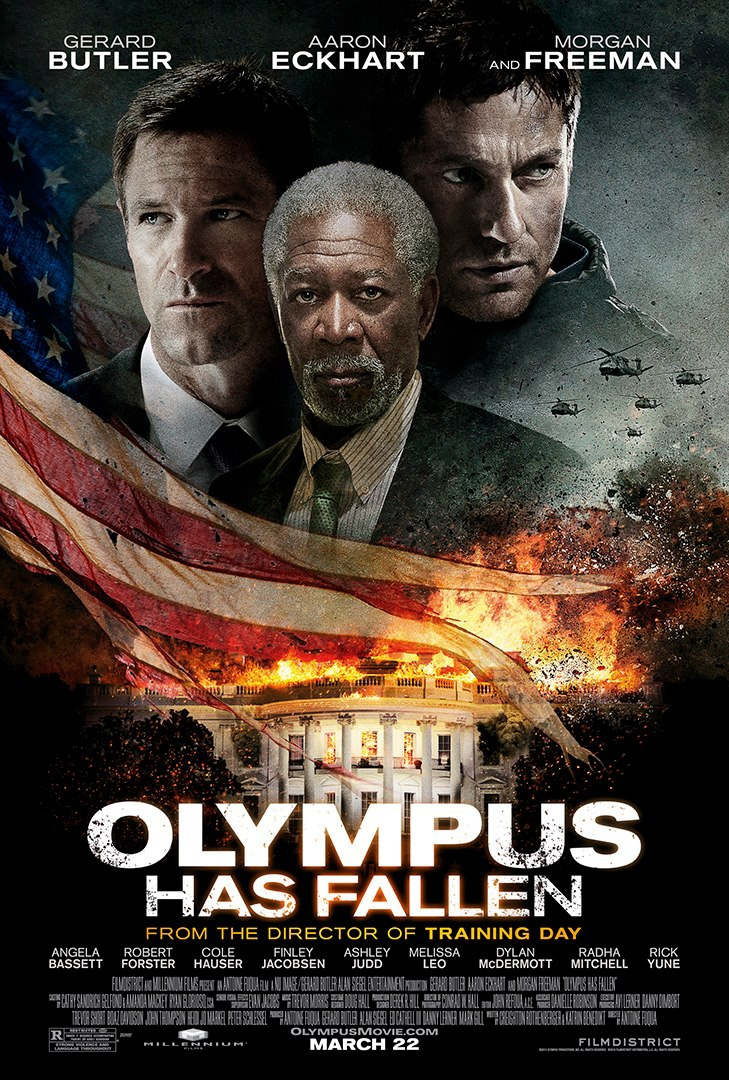Olympus Has Fallen - Movie Poster #2 (Original)