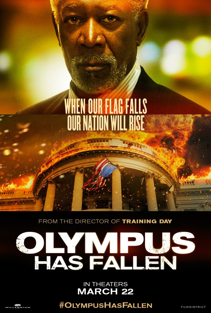 Olympus Has Fallen - Movie Poster #3 (Original)