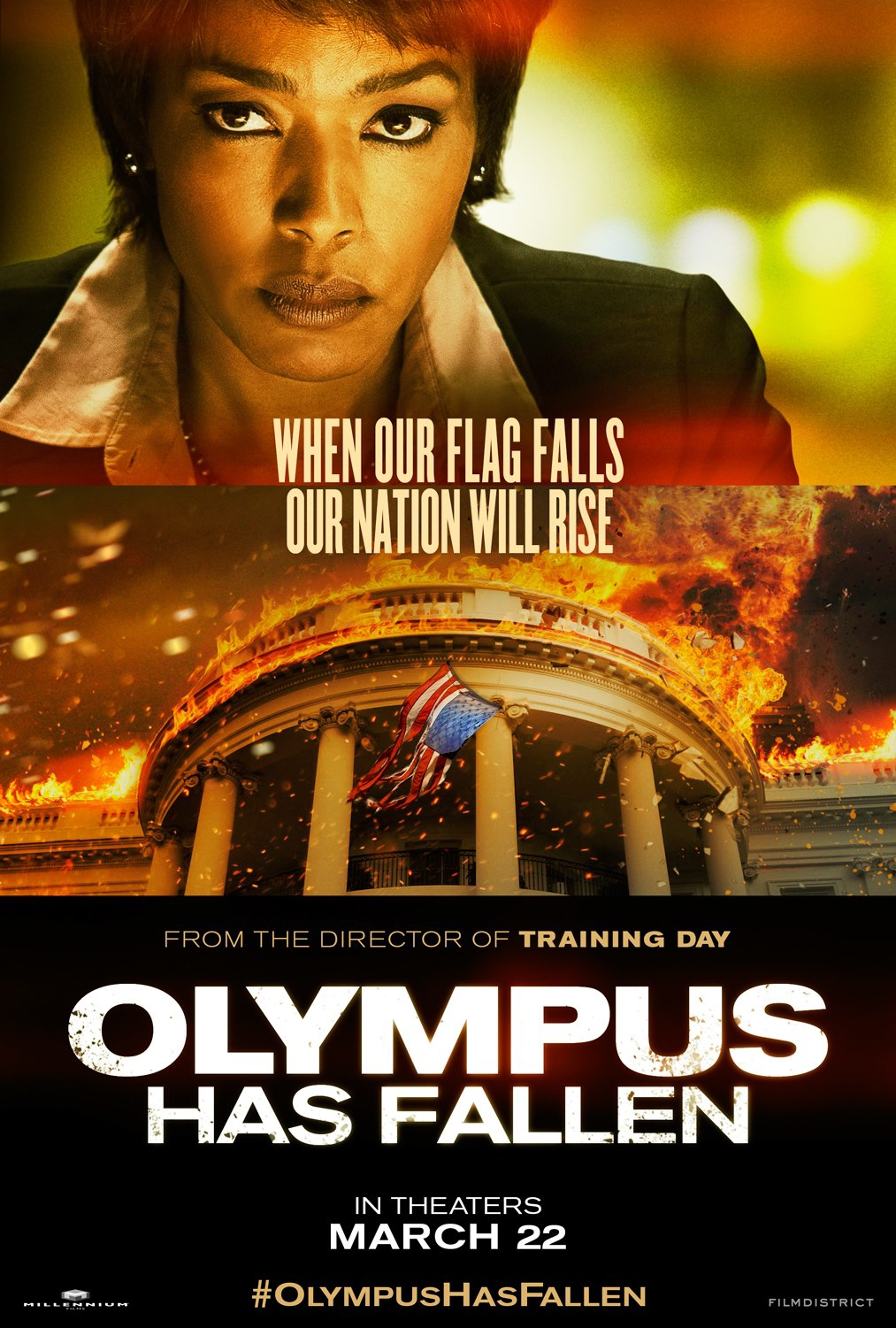 Olympus Has Fallen - Movie Poster #4 (Original)