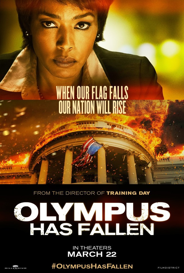 Olympus Has Fallen - Movie Poster #4