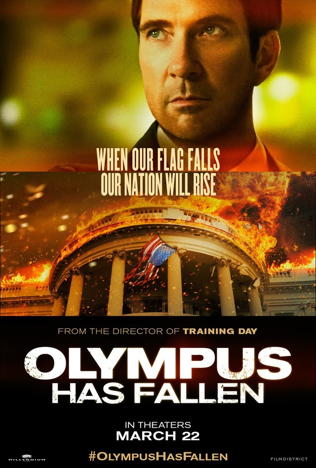 Olympus Has Fallen - Movie Poster #5