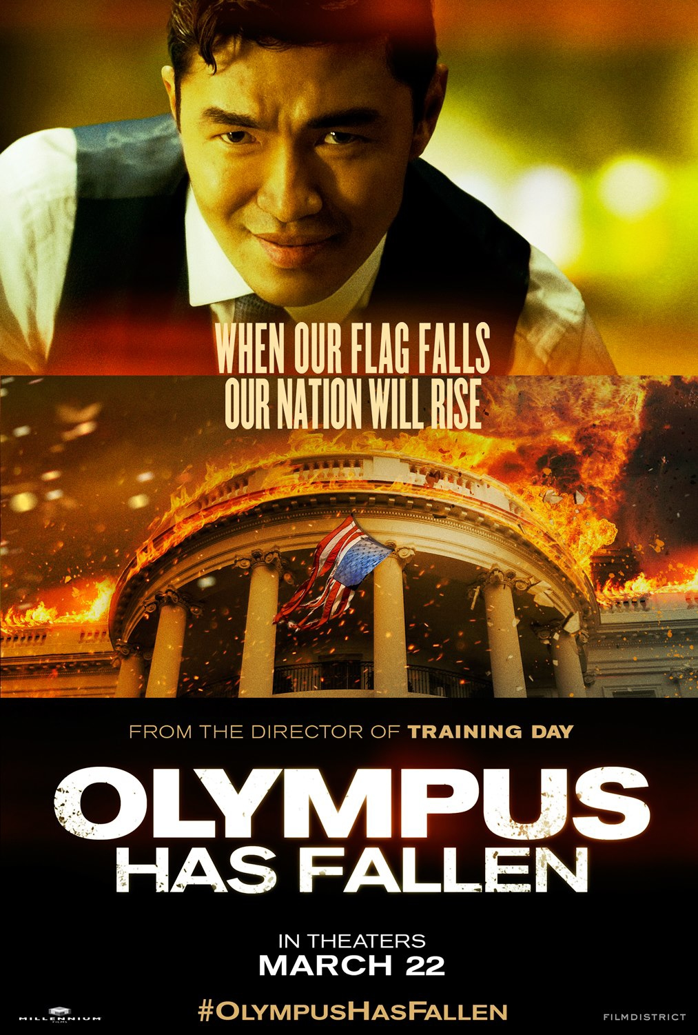 Olympus Has Fallen - Movie Poster #6 (Original)