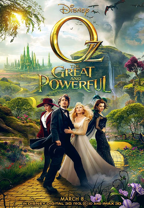 Oz the Great and Powerful - Movie Poster #1 (Original)