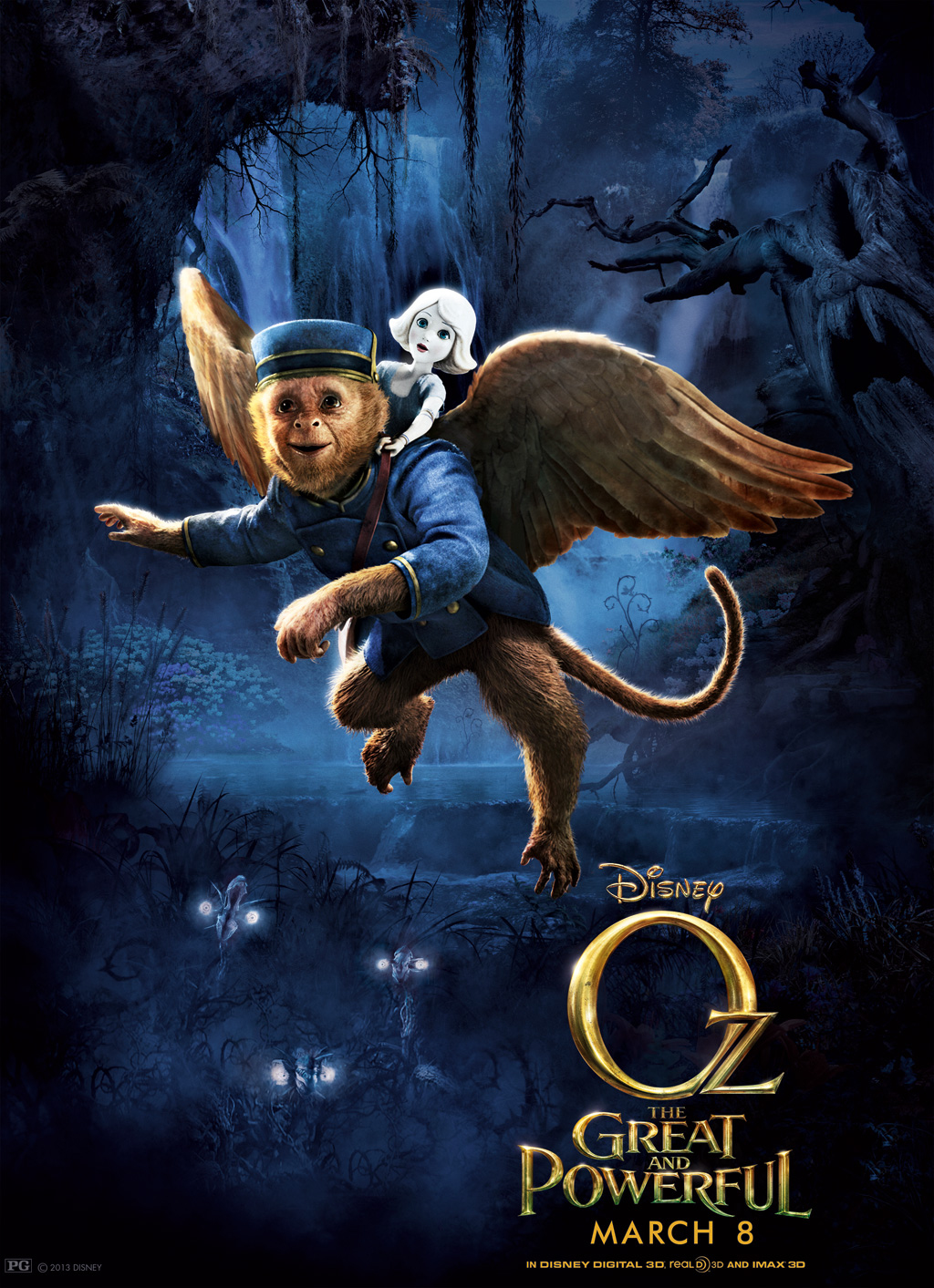 Oz the Great and Powerful - Movie Poster #10 (Original)
