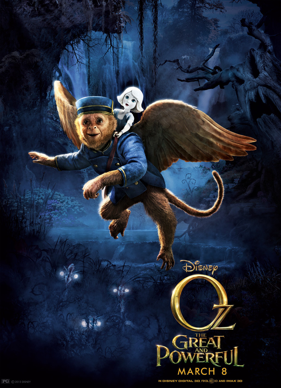 Oz the Great and Powerful - Movie Poster #10 (Large)