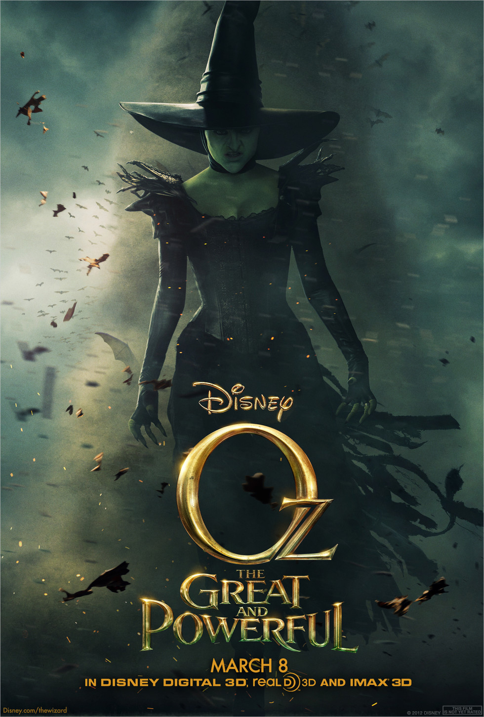 Oz the Great and Powerful - Movie Poster #2 (Large)