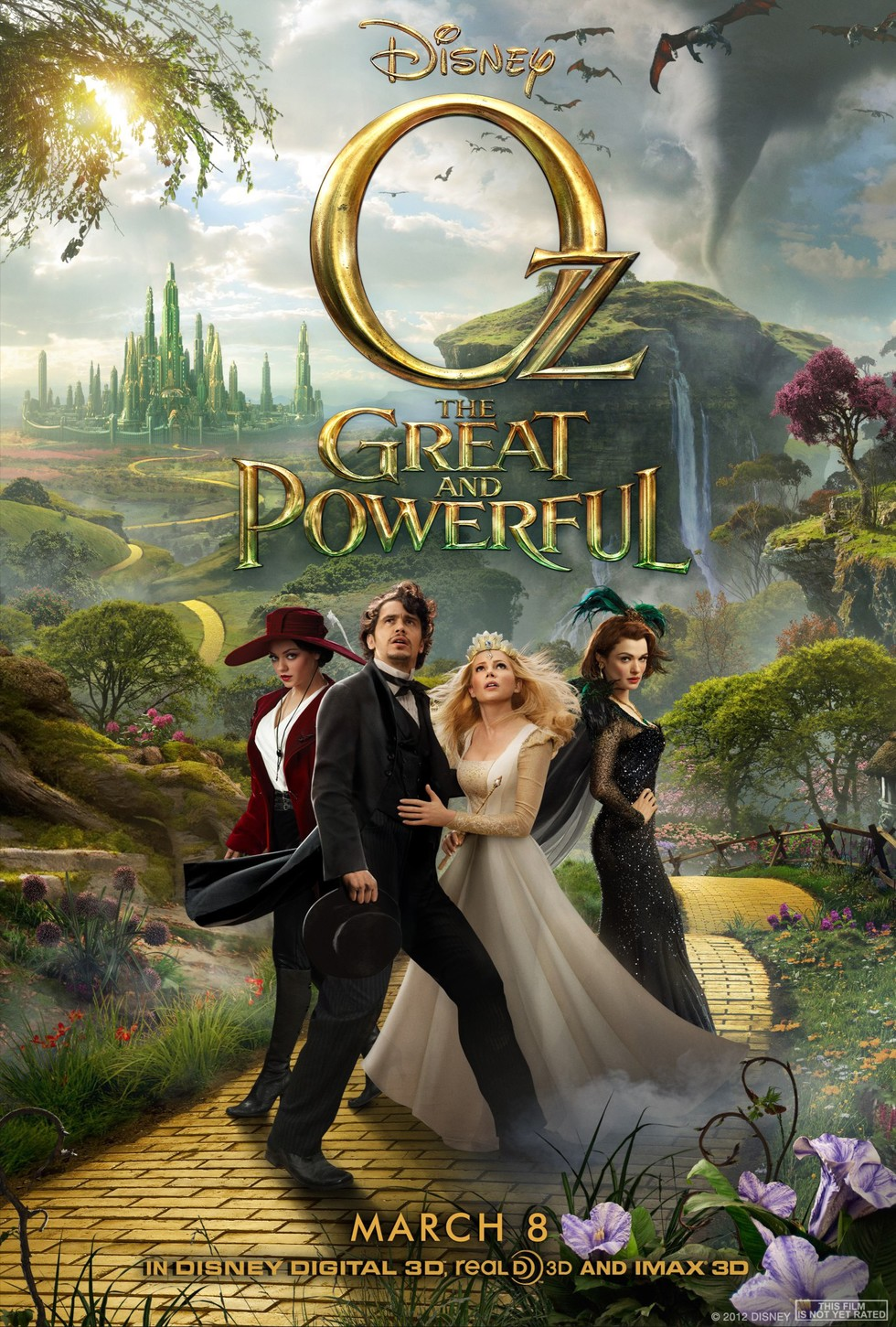 Oz the Great and Powerful - Movie Poster #3 (Large)