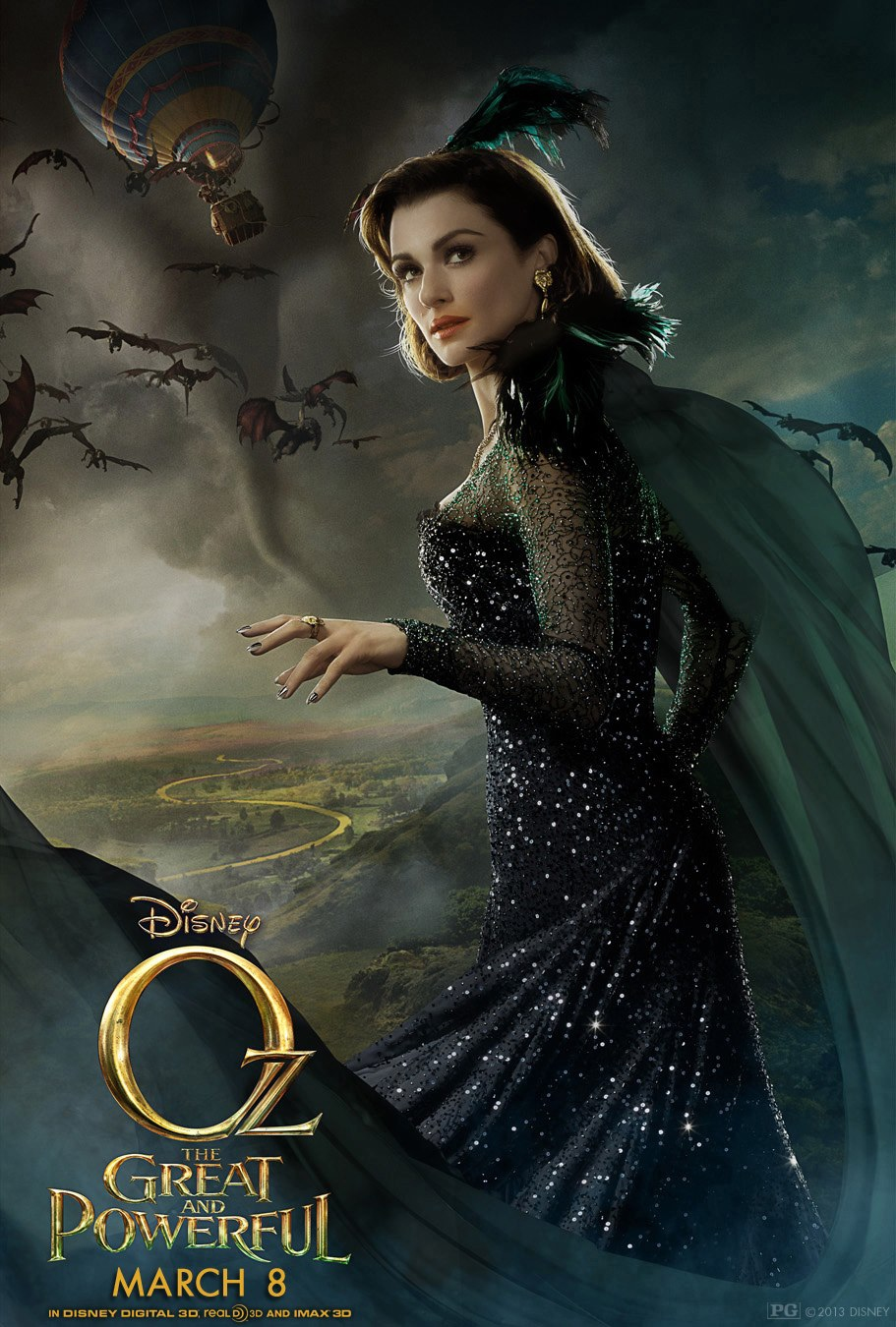 Oz the Great and Powerful - Movie Poster #6 (Original)
