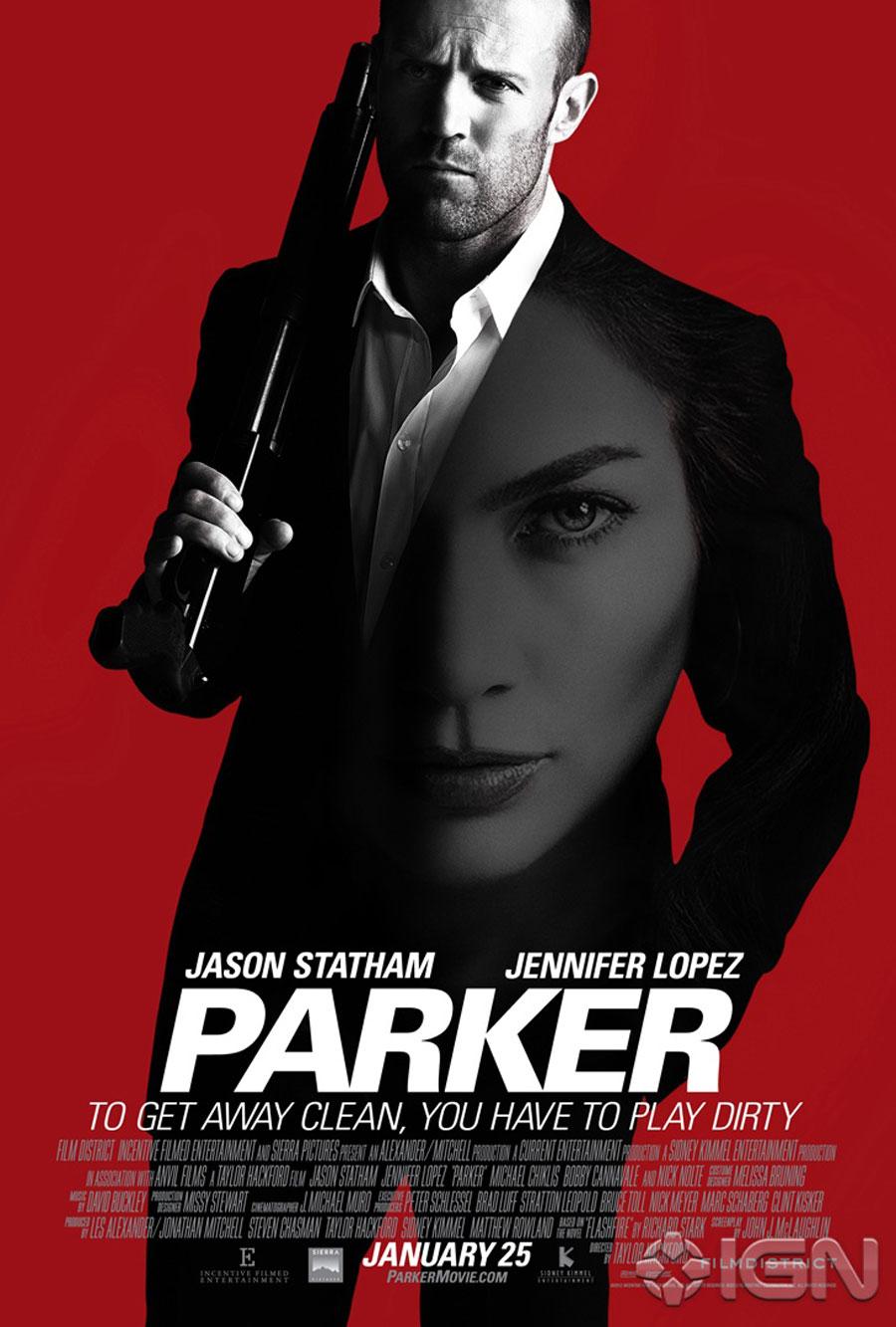 Parker - Movie Poster #3 (Original)