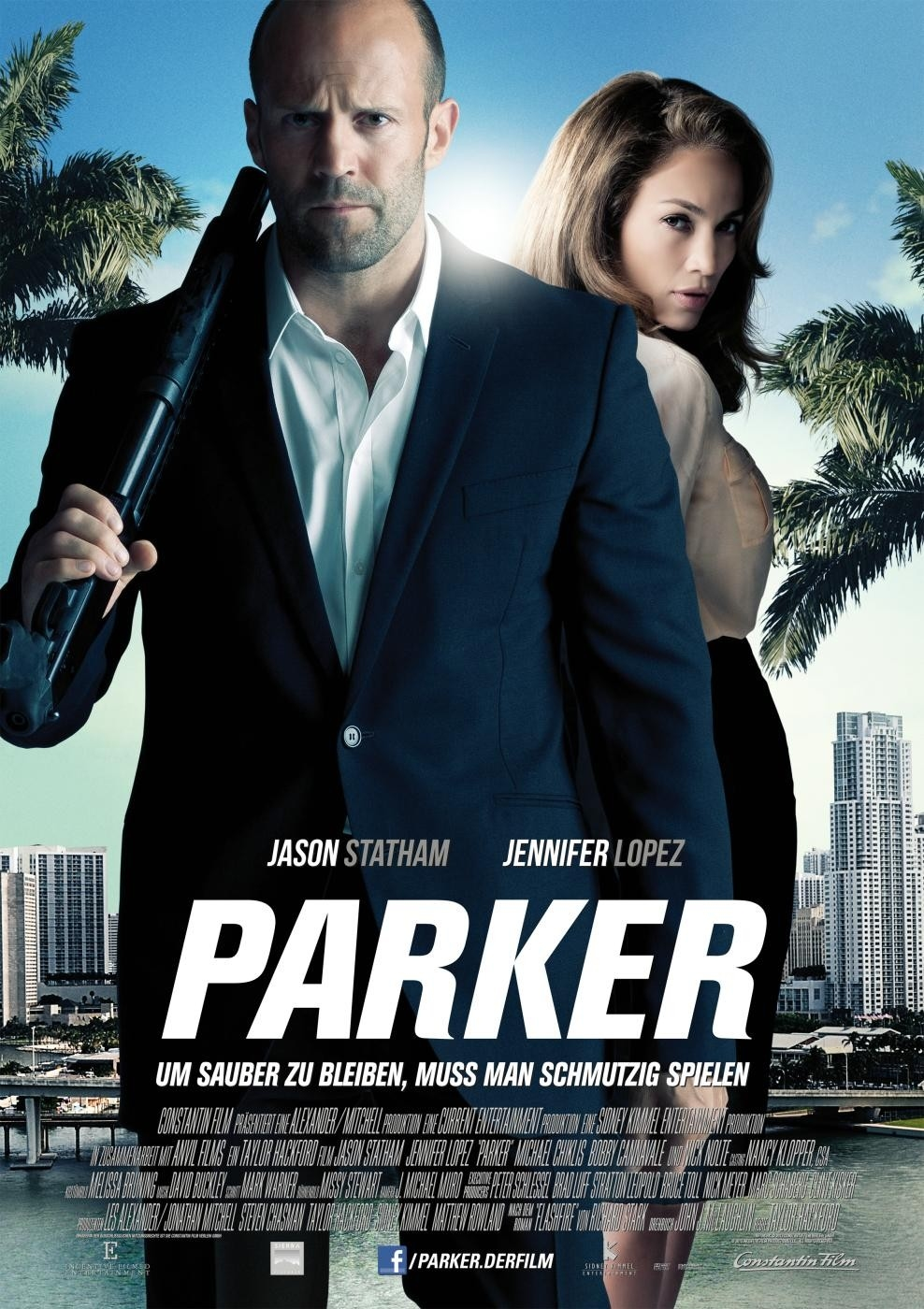 Parker - Movie Poster #5 (Original)