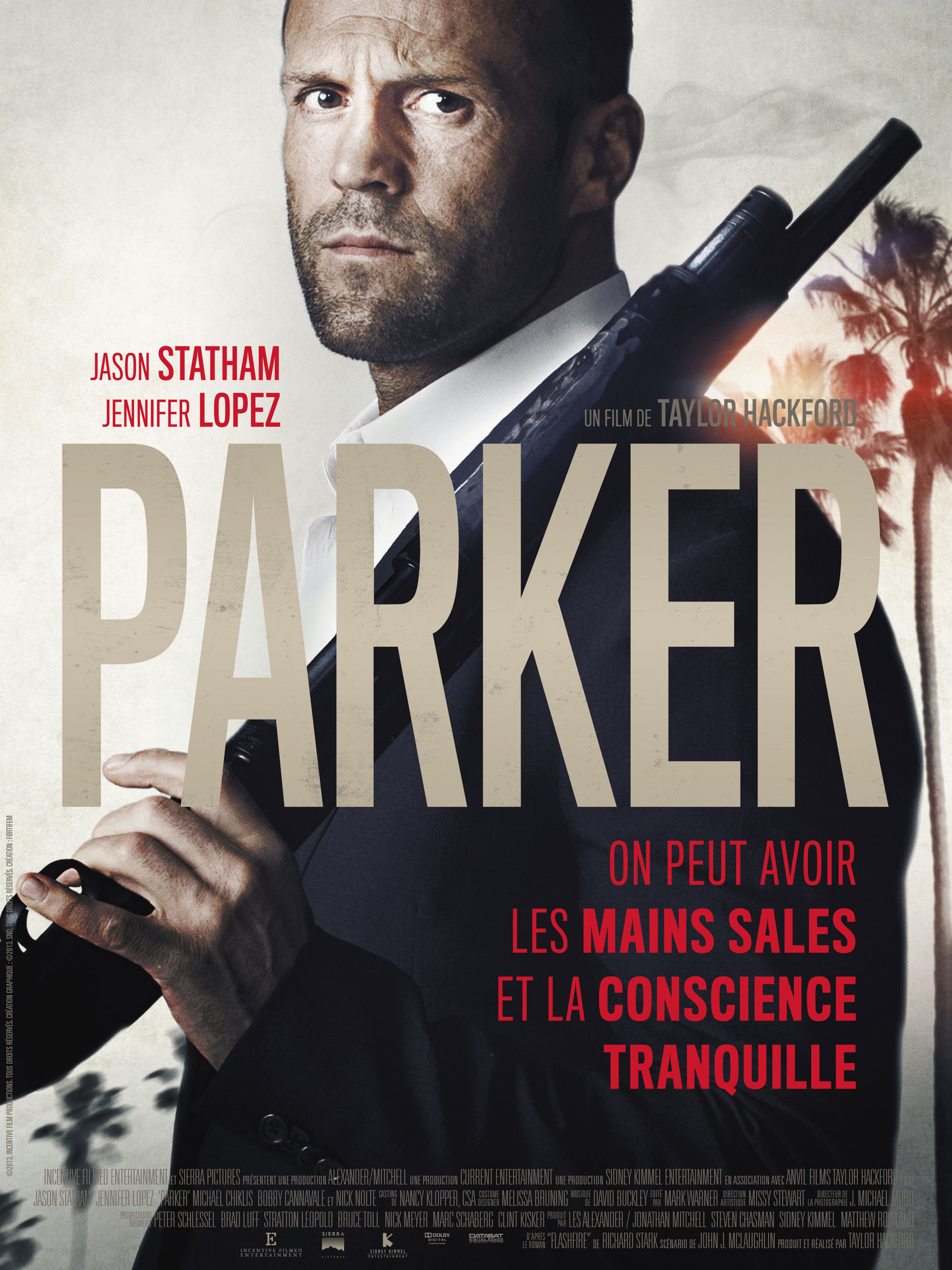 Parker - Movie Poster #7 (Original)