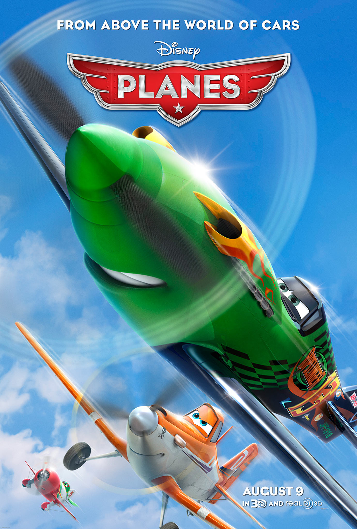 Planes - Movie Poster #1 (Original)