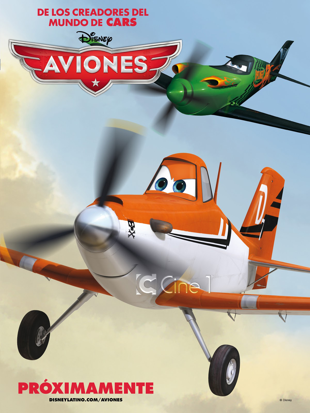 Planes - Movie Poster #3 (Original)
