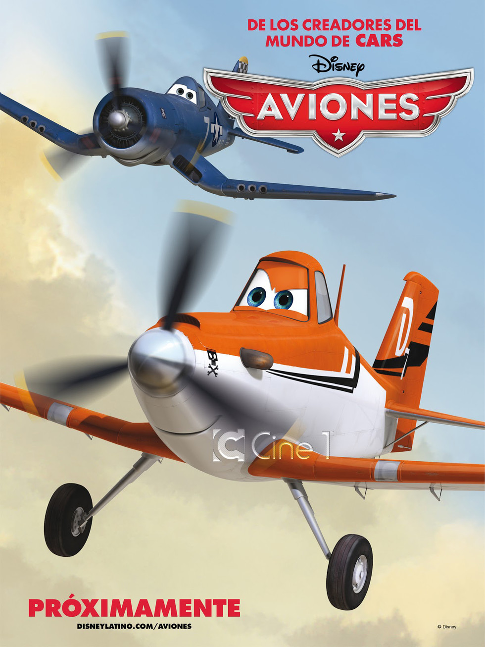 Planes - Movie Poster #4 (Large)