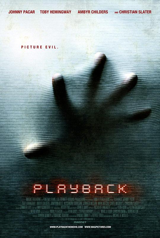 Playback - Movie Poster #1 (Original)
