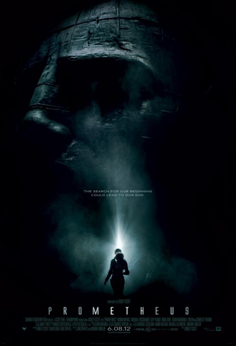 Prometheus - Movie Poster #1 (Original)