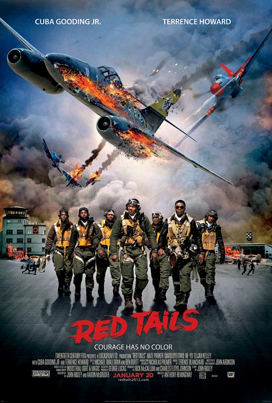 Red Tails - Movie Poster #1 (Original)
