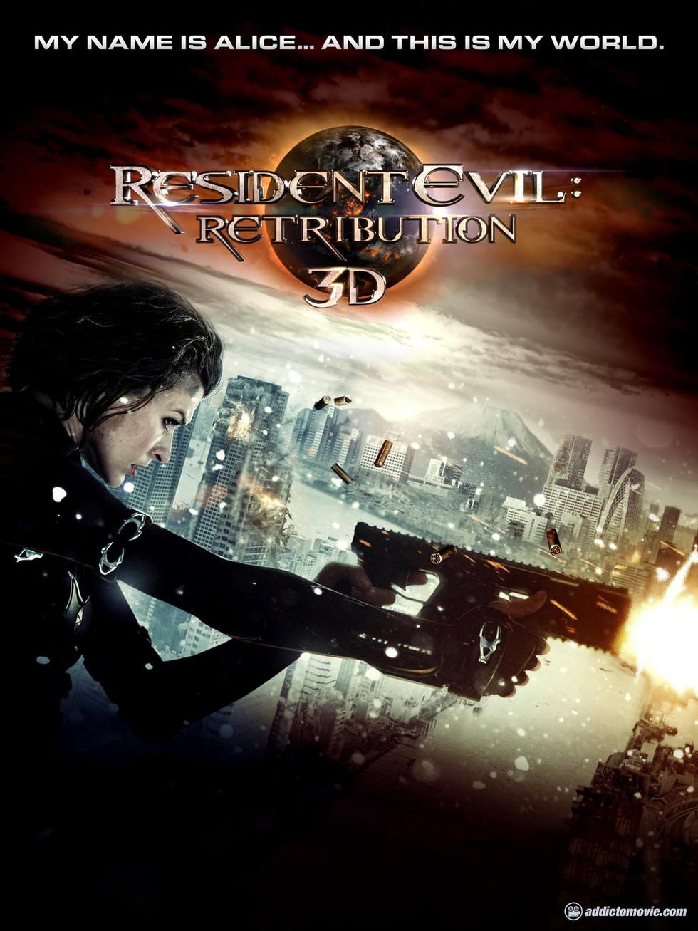 Resident Evil: Retribution - Movie Poster #1 (Large)
